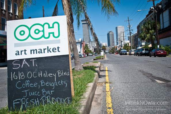 OCH Art Market on Oretha Castle Haley Blvd. | New Orleans Art Market | InthekNOwla.com